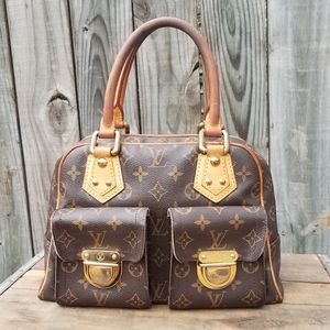 Louis Vuitton Manhattan PM authentic handbag